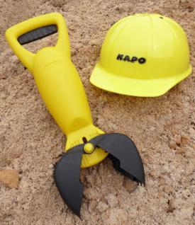 Handbagger und Bauhelm 2er SET