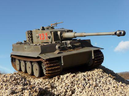 rc panzer german tiger 1 mit infrarot schussfunktion 50cm. Black Bedroom Furniture Sets. Home Design Ideas