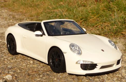 """RC Modell Porsche 911 CARRERA S Cabrio mit LICHT 37cm """"Ferngesteuert"""""""