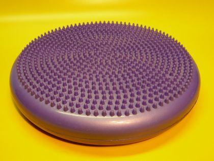 Balancekissen Sitzkissen Massagekissen Set Lila Ø 33cm