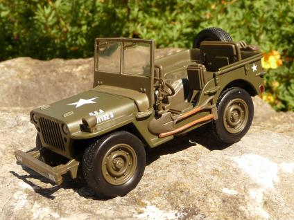 "Modell Auto Jeep Willys in 1:32 ""Top Qualität"""