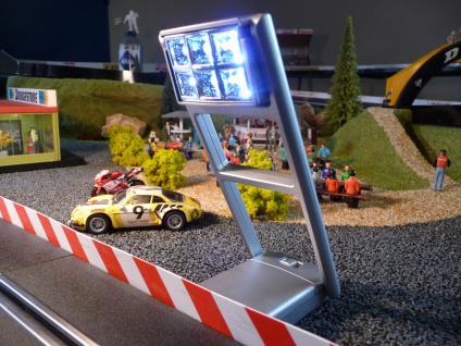 """4-STÜCK Rennbahn FLUTLICHT für Carrera DIGITAL """"TOP BELEUCHTUNG"""""""
