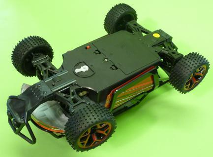 Rc Monster Truggy 30cm Mit 4wd Allrad + Akku Ferngesteuert 2, 4ghz - Vorschau 4