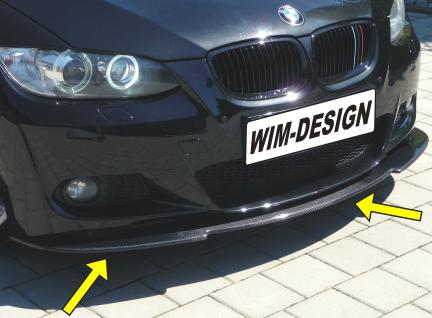 CARBON Schwert für BMW 3er E92 E93 M-Paket mit TÜV MADE in GERMANY