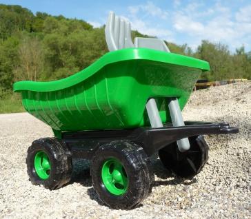 Kinder Traktor + AnhÄnger Gigant Sandkasten Länge 71cm In Top QualitÄt - Vorschau 4