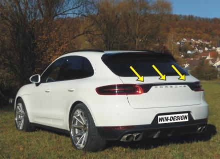 """Heckklappe-design Aufkleber Für Porsche Macan """"made In Germany"""" - Vorschau 3"""