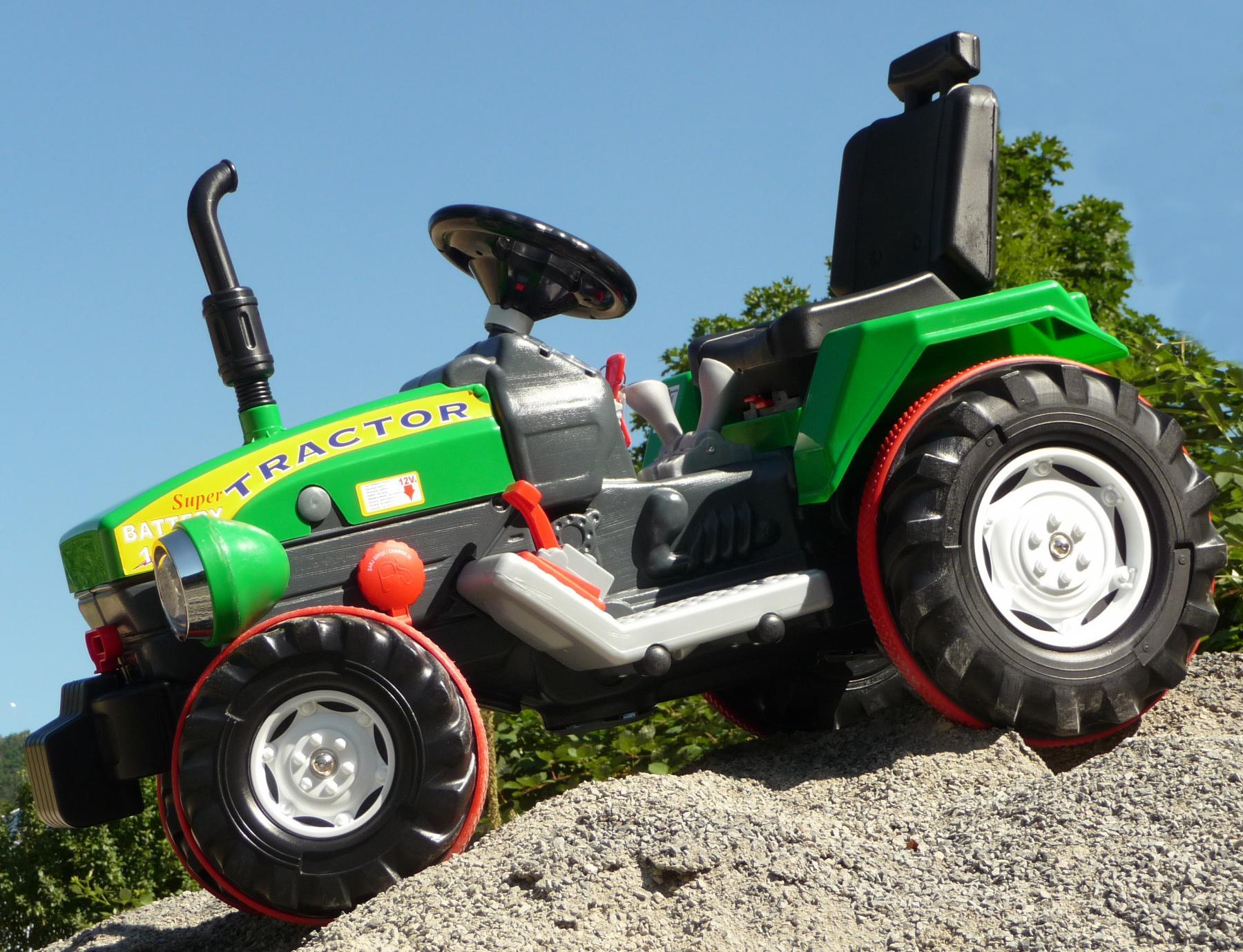 elektro traktor mit turbo speed gang 12 volt akku in top qualit t kaufen bei wim shop. Black Bedroom Furniture Sets. Home Design Ideas