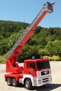 RC FEUERWEHR LKW MAN mit 7 Funktionen 35cm Ferngesteuert 2, 4GHz