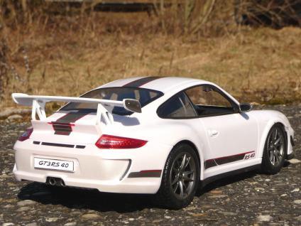"""RC Porsche 911 - 997 GT3 mit AKKU + LICHT Länge 32cm """"Ferngesteuert 2, 4-GHz"""" - Vorschau 3"""