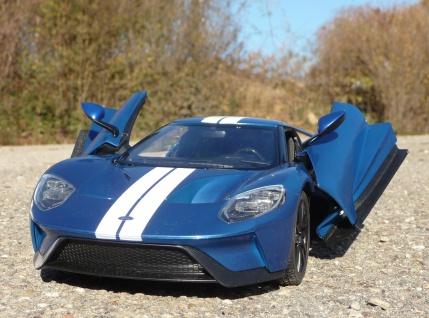 Rc Ford Gt Mit Licht Flugelturen Lange Cm Ferngesteuert