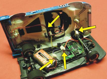 Slotcar Universal Umbau Set Von Analog Auf Carrera Digital-decoder - Vorschau 2