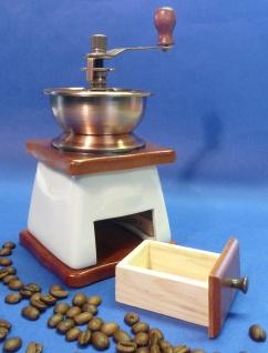 KERAMIK Kaffeemühle in wunderschönem NOSTALGIE RETRO-DESIGN mit FUNKTION