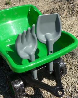 Kinder Traktor + AnhÄnger Gigant Sandkasten Länge 71cm In Top QualitÄt - Vorschau 3
