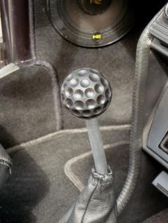 VW Käfer Golf Schaltknauf Golfball schwarz von KAMEI in TOP QUALITÄT