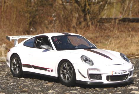 """RC Porsche 911 - 997 GT3 mit AKKU + LICHT Länge 32cm """"Ferngesteuert 2, 4-GHz"""" - Vorschau 2"""