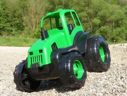 Kinder Traktor + AnhÄnger Gigant Sandkasten Länge 71cm In Top QualitÄt - Vorschau 5
