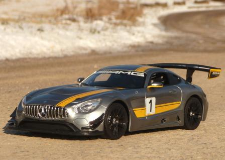 """RC Mercedes Benz AMG GT3 mit LICHT Länge 32cm """"Ferngesteuert 27MHz"""""""