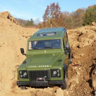 """RC Land-Rover DEFENDER mit LICHT Länge 28cm """"Ferngesteuert 40MHz"""""""