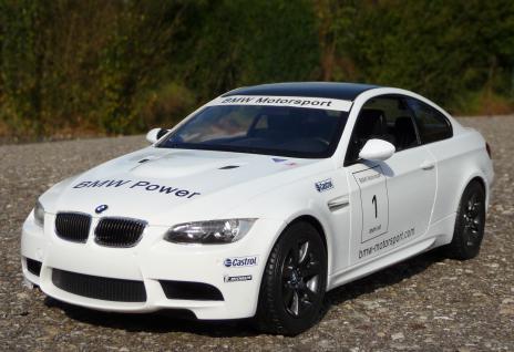 RC BMW e92 M3 Sport Coupe mit LICHT 1:14 Länge 34cm Ferngesteuert 27MHz - Vorschau 2