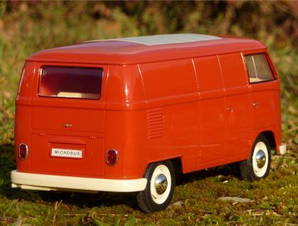 """RC Modell VW BUS T1 Transporter mit LICHT 26cm 27MHz """"Ferngesteuert"""" - Vorschau 2"""