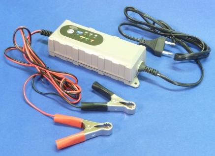 "Kfz Batterie-ladegerät Output 6 / 12 Volt Mit 0, 8 Bis 3, 8a ""top QualitÄt"" - Vorschau 2"