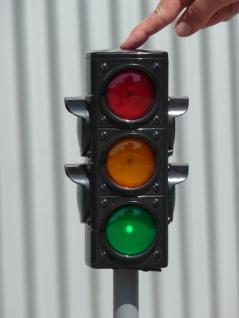 Kinder Verkehrs-ampel Mit Automatik-licht & TÖne In Maxi Höhe 72 Cm - Vorschau 2