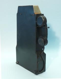 Schlüßelkasten Mit Uhr Retro Vintage Design Telefon Mit Verschluß - Vorschau 4