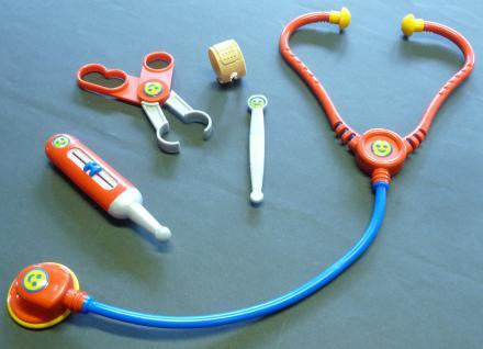 Kinder Maxi Arztkoffer Dokorkoffer Mit Stethoskop 11 Teilig In Top QualitÄt - Vorschau 4