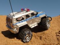 RC Jeep POLIZEI mit LICHT & AKKU 1:12 Länge 39cm Ferngesteuert 27MHz