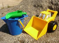SANDKASTENSPIELZEUG Sandspielzeug SET 3-teilig
