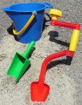 SANDKASTENSPIELZEUG Sandspielzeug 3-teilig