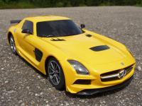 """RC Modell Mercedes SLS AMG BS mit Licht Länge 26cm """"Ferngesteuert 27MHz"""""""