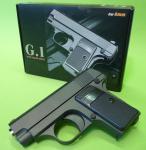 """SOFTAIR 6mm BB KINDERPISTOLE G.1 Zink-Metall Ausführung in """"TOP QUALITÄT"""""""