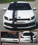 RENNSTREIFEN + SCHWELLERDESIGN Aufkleber für VW Scirocco zum SONDERPREIS