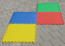 4 STÜCK Puzzlematte Spielmatte Kinderteppich 62x62xcm pro Matte