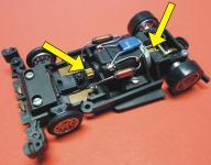 3-STÜCK Lenkung - Motorritzel MESSING für Carrera Servo 140 V2 Autos 20250308
