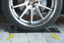 KFZ Einparkhilfe RUTSCHFEST für GARAGE in TOP QUALITÄT