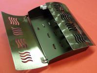 Schlüsselkasten Schlüsselbox aus EDELSTAHL mit Magnetverschluß
