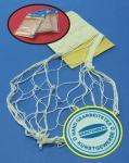 3-STÜCK Fischernetz aus 100% Baumwolle je 150 x 200cm in NATUR BEIGE
