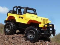 """RC Modell Jeep WRANGLER mit LICHT Länge 21cm """"Ferngesteuert 2, 4GHz"""""""