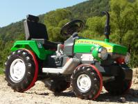 ELEKTRO Traktor mit TURBO-SPEED Gang & 12-Volt AKKU in TOP QUALITÄT