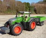 "RC Traktor FENDT 1050 + KIPP-Anhänger in XL Länge 70cm ""Ferngesteuert"""