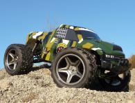 RC Monster BUGGY TRUGGY 1:10 der HAMMER ca.50 Km/h WASSERFEST in TOP QUALITÄT