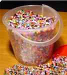 Bügelperlen Eimer mit 20 000 Perlen in Top Qualität