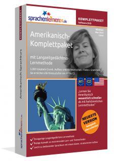 Sprachkurs Amerikanisch lernen Komplettpaket auf DVD