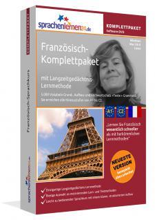 Sprachkurs Französich lernen Komlettpaket auf DVD