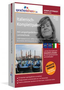 Sprachkurs Italienisch lernen Komplettpaket auf DVD