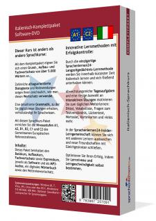Sprachkurs Italienisch lernen Komplettpaket auf DVD - Vorschau 2