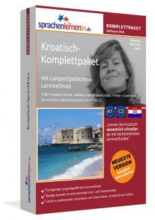 Sprachkurs Kroatisch lernen Komplettpaket auf DVD