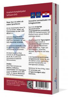 Sprachkurs Kroatisch lernen Komplettpaket auf DVD - Vorschau 2